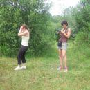 Najini lastnici - levo moja (Vesna), desno Jensova (Katja)