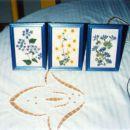 okvirji s prešanim cvetjem