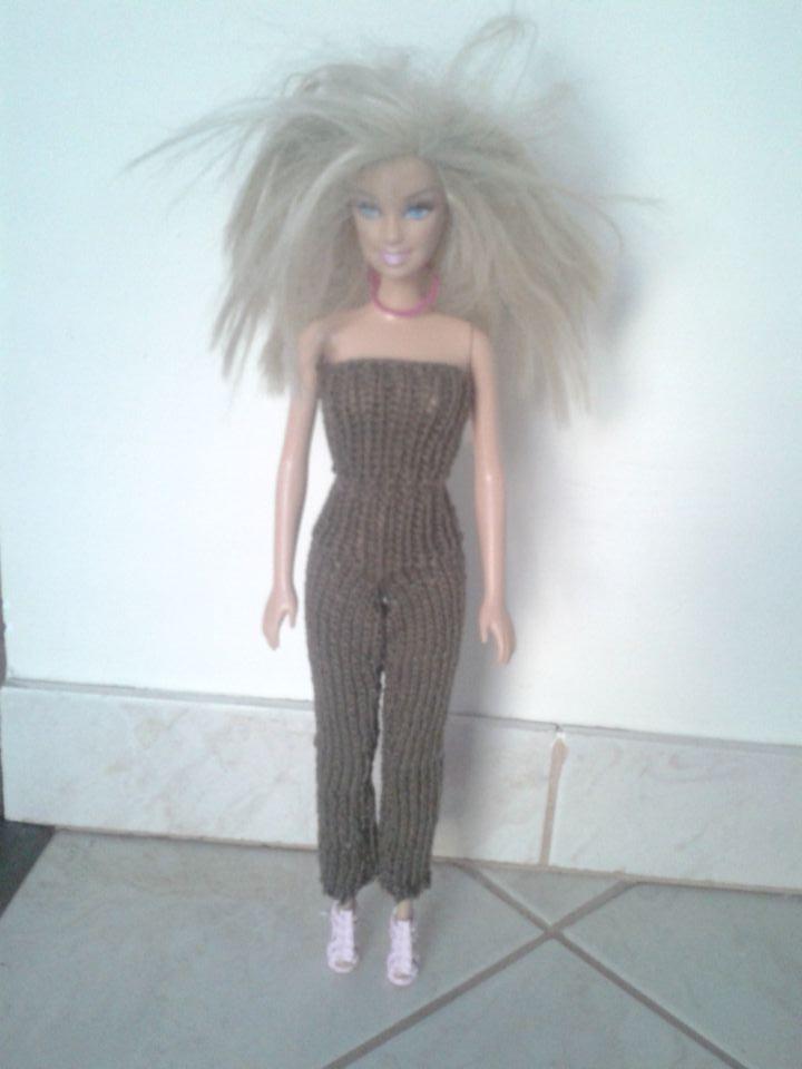 Pletenje za Barbike - foto povečava