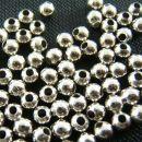 Perle perlice 3mm posrebrene, 125 kos=1 evr
