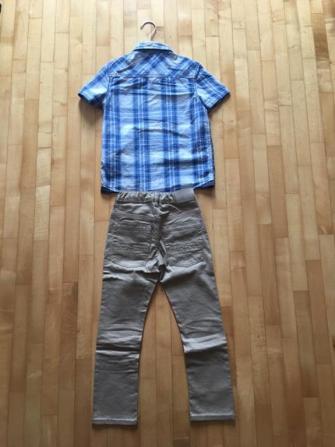 Komplet OKAIDI, 6 let, 1x oblečen - foto
