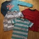 4 majice št. 140 v paketu