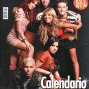 Na naslovnici Bravo v Španiji