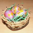 Košarica z jajčki