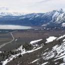 Nevada, proti Mono Lake