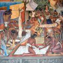 freska Diega Rivere v predsedniški palači