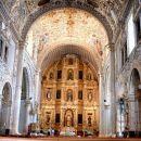zlati oltar v San Cristobalu de las Casas