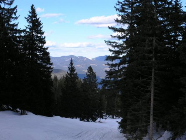 Velika planina na smučeh 4. 3. 2007 - foto