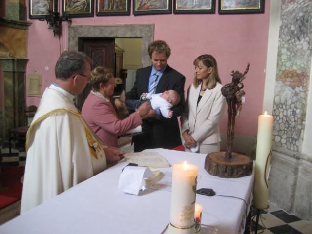 Krst - foto