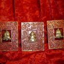 Božični trio-mio za na Sliko-poličko v dnevni sobi