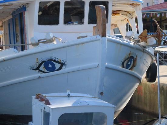 Petriti - tudi ribiška ladjica nas je lepo pogledala