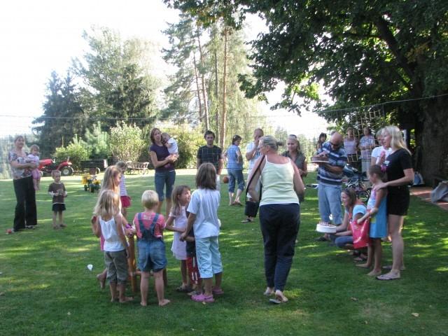 9.2008  Piknik za RD Ane, Danuše in Bojana - foto
