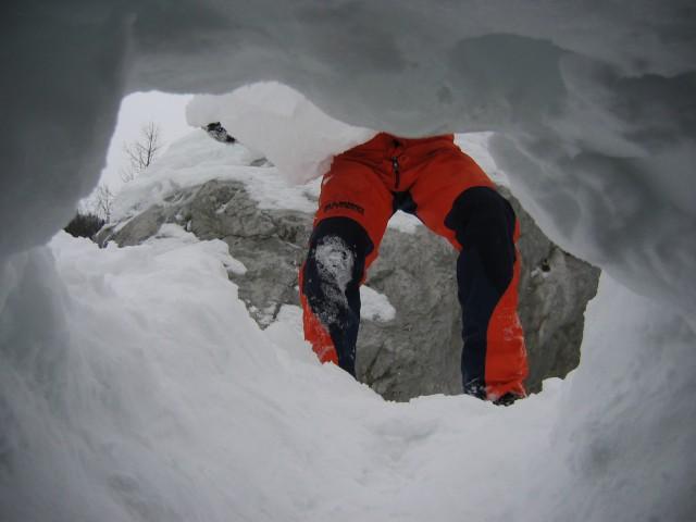 Lavina-Zelenica 20.12.2008 - foto