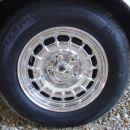 Chrome wheels, chrome bolts and chrome wheel cap.  BRAND NEW TIRES!!