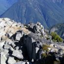 Summit cairn Mt. Macdonald