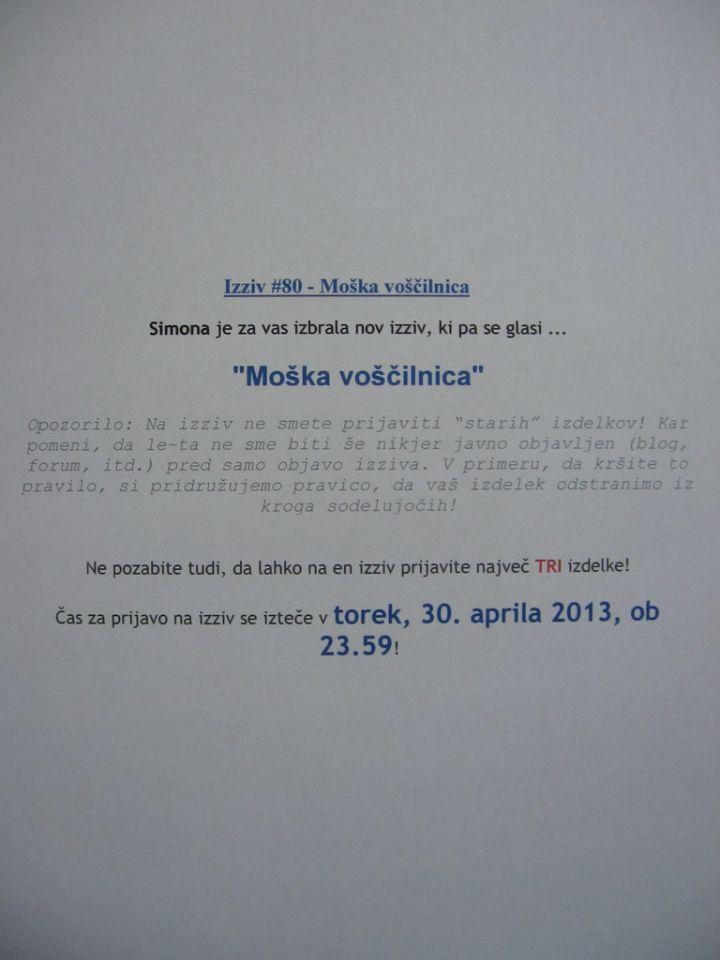 CRAFT-alnica - 1.slovenski blog izziv - foto povečava
