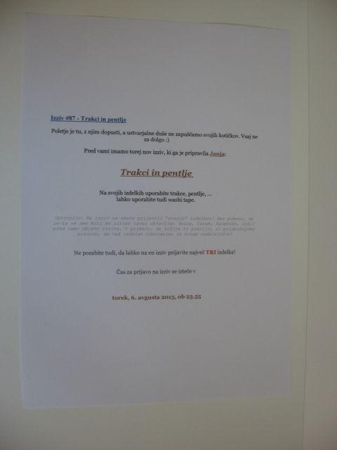 CRAFT-alnica - 1.slovenski blog izziv - foto