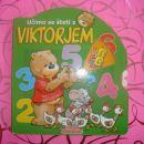 Kartonka s kazalnim kolesom Učimo se šteti z Viktorjem