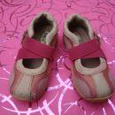 Pami čevlji / balerinke z usnjeno steljko za deklico, št.25