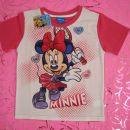 Nova Disney Minnie Miška majčka s kratkimi rokavi,št.110