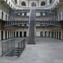 New (east?) wing of the prison