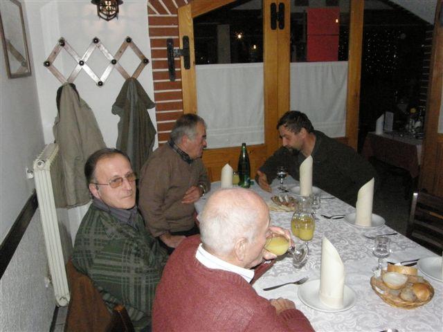 Novoletna  večerja Slap ob Idrjici - foto