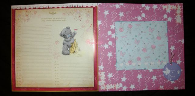 Scrapbook/koledar 2011 - me to you - foto