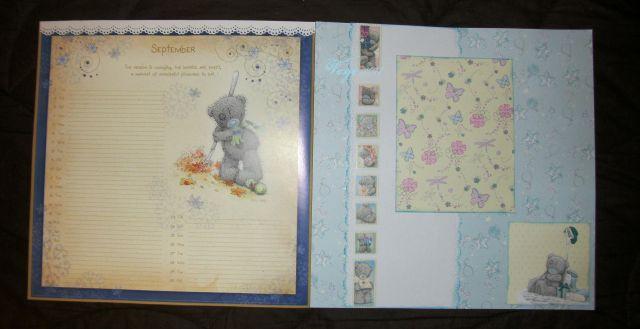 Scrapbook/koledar 2011 - me to you - foto