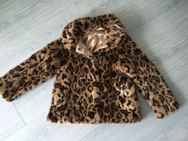 H&M krznena jaknca v vel.122 - foto