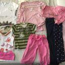 Komplet oblačil za deklico vel.128