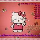 Otroška nalepka, stenska nalepka Hello Kitty