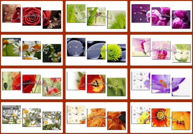 Stenske slike -tisk na um.platno  (vzorci stenskih slik z urami)