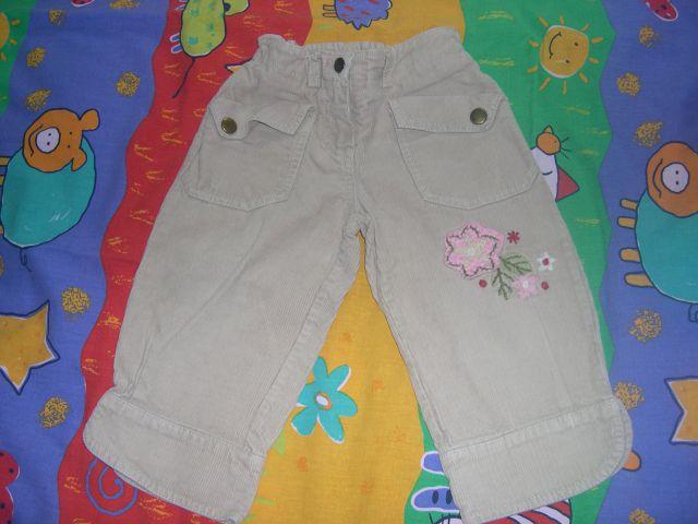 3/4 žametne hlače kot nove