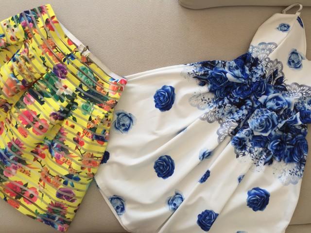 Obleka in krilce - foto