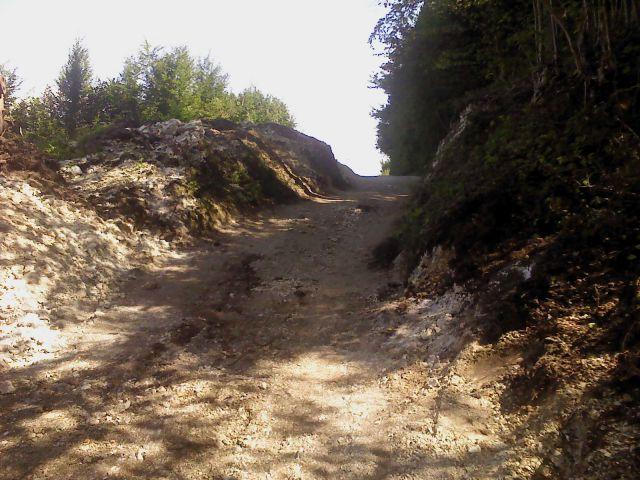 Cesta Široke njive 2011 - foto