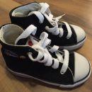 (kot novi) pleteni čevlji črni št.23 - 5€ s PTT