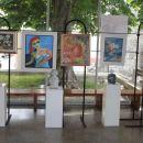 Razstava v avli Dvorana prve slovenske vlade v Ajdovščini - junij 2013