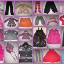 Dodana oblačila za deklice do št. 170