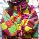Deklice, smučarska bunda, velikost 104-110.