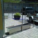 Moderna cvetlična inox korita www.poceniOGRAJE.si Vseh dimenzij!