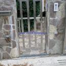 Dvoriščna drsna inox vrata el.pogon www.poceniOGRAJE.si