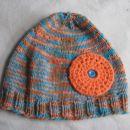 Dekliška kapa Oranžni krog