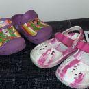 2x crocs (Dora original, 15cm) roza 15cm