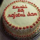 torta krašena s smetano