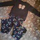 Tom tailor pulovercek in H&M majcka 128