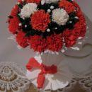 rože iz krep papirja