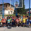 Poletna šola košarke v Parku Nade Žagar