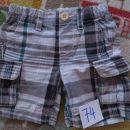 kratke hlače Benetton, št. 74, 5€+ptt