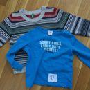 Benetton pulover+s.Oliver majica dolg rokav št.92, 10€+ptt