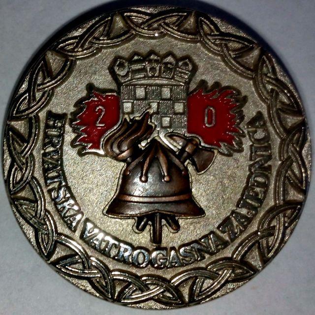 Vatrogasne medalje i plakete - foto